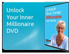 Sue Stone's Unlock Your Inner Millionaire DVD